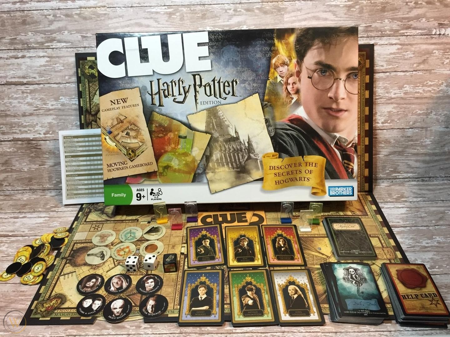 Your guide to Clue Harry Potter Edition